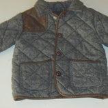 Демисезонная курточка-пиджачок для мальчика фирмы Next р. 1,5-2 года 92 см
