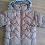 Распродажа Теплая куртка Бельгия зима водо и ветронепродувемая на девочку 8-14 лет