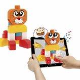Chicco интерактивный конструктор Пёс и кот 3D App Toys
