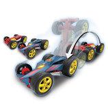 Hot Wheels Машина 2 в 1 моторизированная перевертыш свет звук Light n Sound Flipping Fury Vehicle