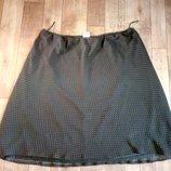 Шифоновая юбка большого размера, 62-66 24
