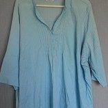 Стильная блуза от yessica c&a коттон/вискоза 56-60