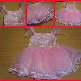 Нарядное платье 1-3 года