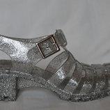 Силіконові босоніжки желейки сандалі розмір 38 37