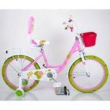 Роус 16 18 20 дюймов Roses велосипед детский двухколесный для девочек