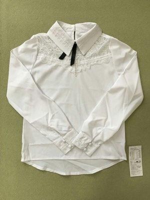 6ce27fcee7d Нарядная белая блузка