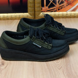 Кожаные полуботинки для усталых ног Mephisto Originals туфли Франция 36р. 23 см.