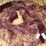 новая шаль платок BCBG Max Azria шелк 66Х200 см