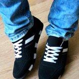 Мужские кроссовки . Зебра