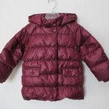 Новая фирменная куртка - пуховик chicco. на 2-8лет. оригинал