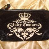 кошелек клатч Juicy Couture оригинал кожа идеал вышивка