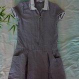 Симпатичное платье на девочку 8-9 лет