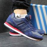 Кроссовки Adidas Neo blue red, Топ качество