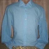 Льняная рубашка 48-50 размера
