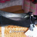 Туфли ортопедические кожаные для девочки новые чёрные размеры 36, 37, 38, 39, 40