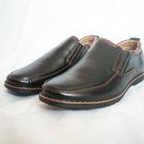 Кожаные туфли для подростков