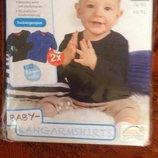 Качественная детская новая одежда из Германии по доступным ценам.Реглачики р.62/68 Lupilu,Impidimpi