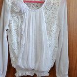 обалденная блуза на девочку размер 134