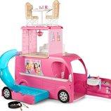 Barbie Pop-Up Camper кемпер Барби Трейлер для путешествий CJT42