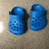 Кроксы Crocs оригинал, не носили, 13см