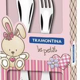Набор столовых приборов Tramontina 2 предмета розовый