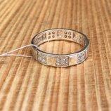 Кольцо серебряное Каринка
