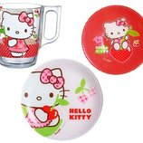 Набор детский Luminarc HELLO KITTY CHERRIES /3 предмета
