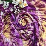 Шикарный шелковый шарф палантин парео NULU NEW LOOK, 190 x 107 см.