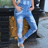 Новый Стильный джинсовый комбинезон Red Sold Турция