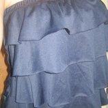 Стильный комбинезон-ромпер с воланами и штанишками галифе. s-m, 44-46.