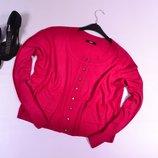 Укороченный кардиган с карманами Marks&Spencer