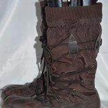Чоботи шкіряні TMCрозмір 39 40, сапоги ботинки
