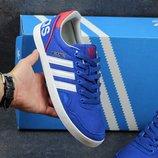 Кроссовки Adidas Turf Royal bright blue, Топ качество