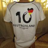//Новая качественная футболка Германия, 50-54