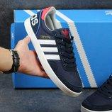 Кроссовки Adidas Turf Royal dark blue, Топ качество