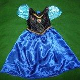 платье Анны на 4-6 лет