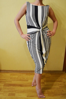 45a0b91d072 Полосатое платье Dolce   Gabbana Дольче Габбана DG. Previous Next