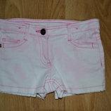 Шорти джинсовые на 5-7 лет
