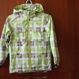 Куртка ветровка на девочку Trevolution мембрана 128 см рост