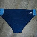 Хxl 54-56 Adidas,Оригинал синие плавки