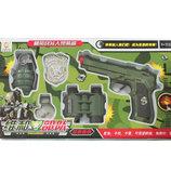 Набор военного с пистолетом R76 в коробке ролевые игры