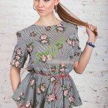 Модные и стильные женские блузки-рубашки, 3 модельки, размер 42-48 s-xl .