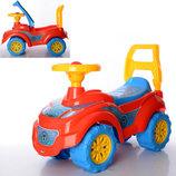 Машинка-Толокар для прогулок Спайдер 67×46×29 см Технок 3077