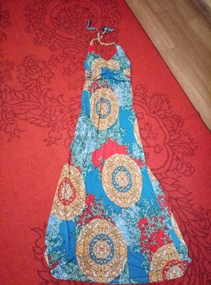 Очень красивое макси платье с чашечками, сарафан