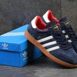 Кроссовки Adidas Spezial blue white, Топ качество