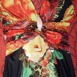 Сногсшибательное длинное платье из струящегося трикотажа