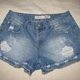 Шорти джинсові стильні шикарні нові Denim Co Оригінал р.40