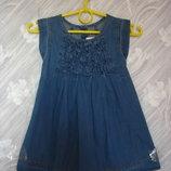 Джинсовое платье 2-3 года miniclub india