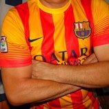 Спортивная футбольная футболка Nike ф.к Барселона .Мессі .л.