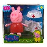 Свинка Пеппа с одеждой врача PP6050-1 герои мультфильмов